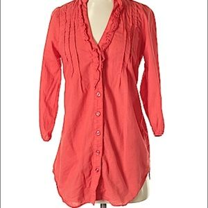 Odille 3-4 Sleeve Button-Down Shirt